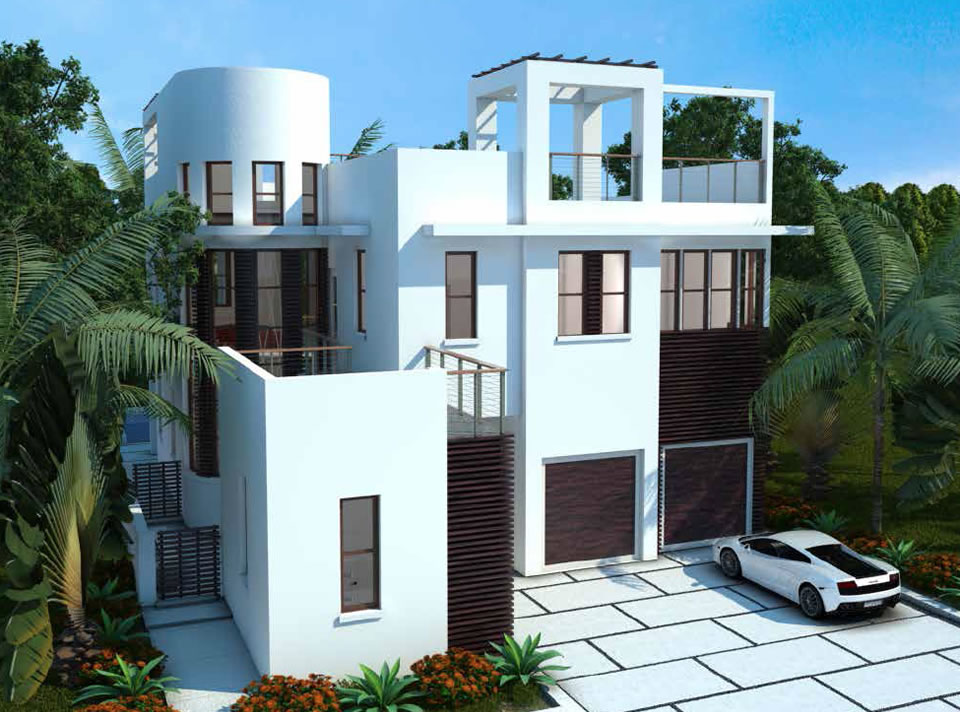 New and pre construction ivi doral miami florida for Modern florida homes