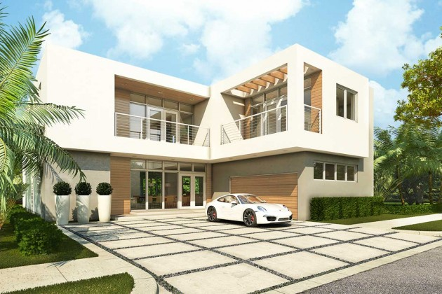 New and pre construction modern doral contemporary for Modern houses in florida