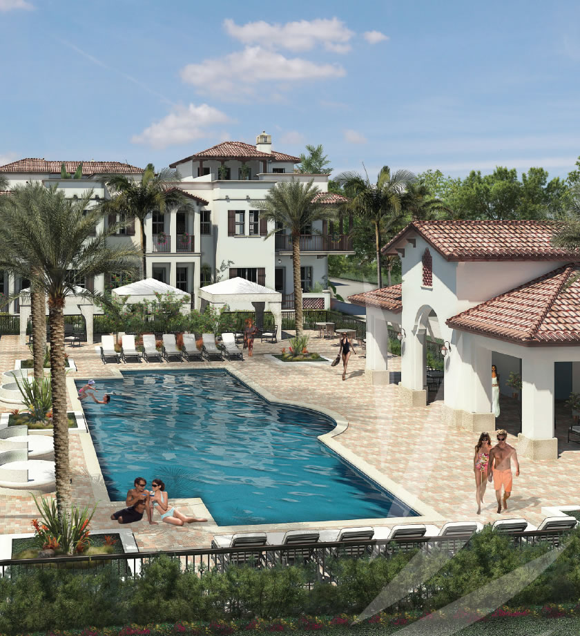 Florida New Construction Luxury Home: Townhomes At Downtown Doral